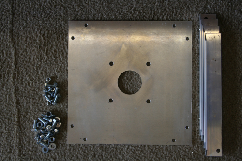 Alimast top plate
